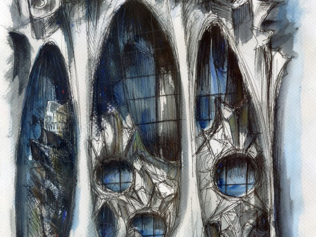 Sagrada Familia (galeria de la Pasión)
