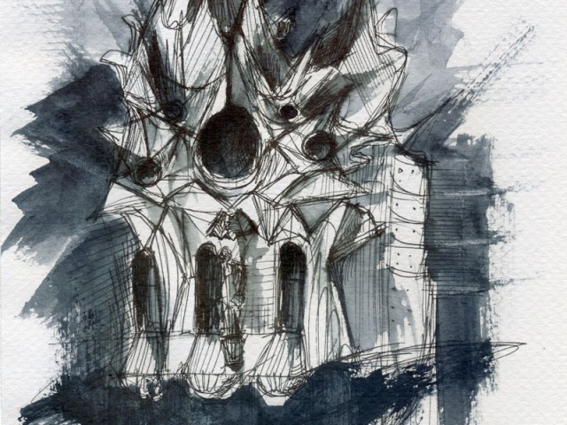 Sagrada Familia (Composición tracería 1)