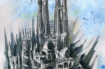 Sagrada Familia (Fachada del Nacimiento 1928)